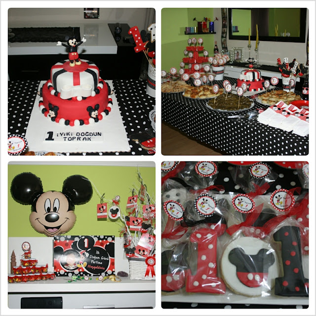 temalı doğum günü partisi,birthday party