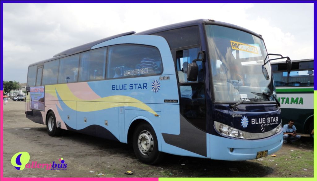 Bus Blue Star - New Travego/Royal Travego by Adi Putro | Mercedes-Benz Bus