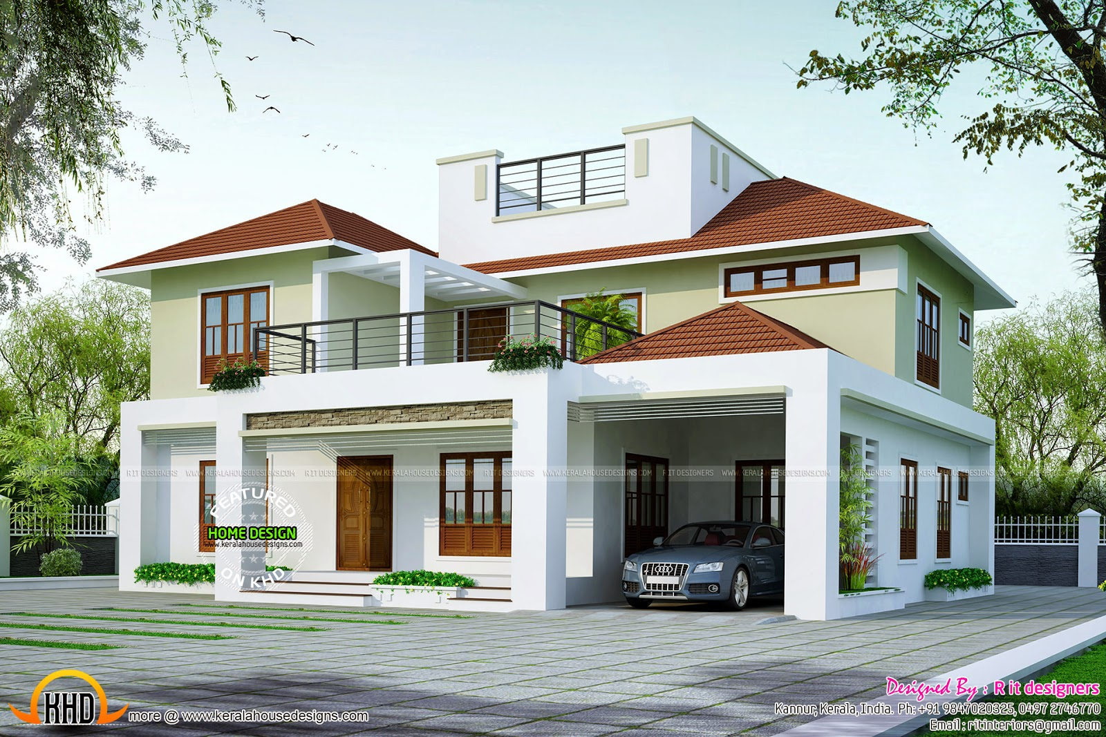 2650 Sq Ft Modern Home Kerala Home Design And Floor Plans