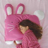 Doomagic Bunny-Shaped Pillowcase