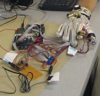 Haptics glove