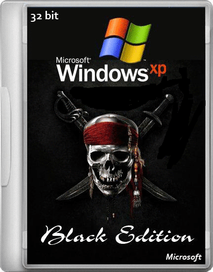 Windows XP Professional SP3 Black Edition MultiLang (22.01.2014)