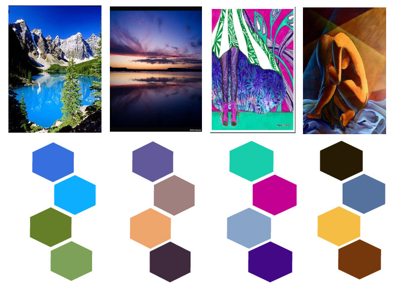 Estructuras audiovisuales paleta de colores - Paleta de colores bruguer ...