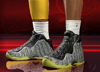 NBA 2K13 Nike Air Foamposite One 112 Shoes Download