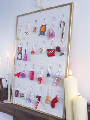 Diy halloween decorations and crafts 2016 decorations - 24 Handmade Advent Calendar Ideas 187 The Purple Pumpkin Blog