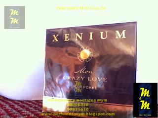 perfume xenium men crazy love
