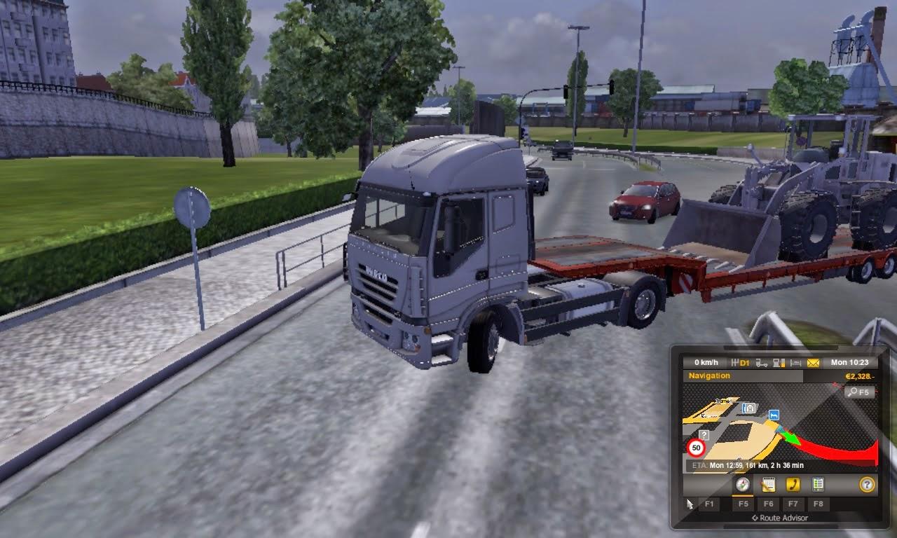 تحميل لعبة سياقة وقيادة الشاحنات Euro Truck Simulator 2