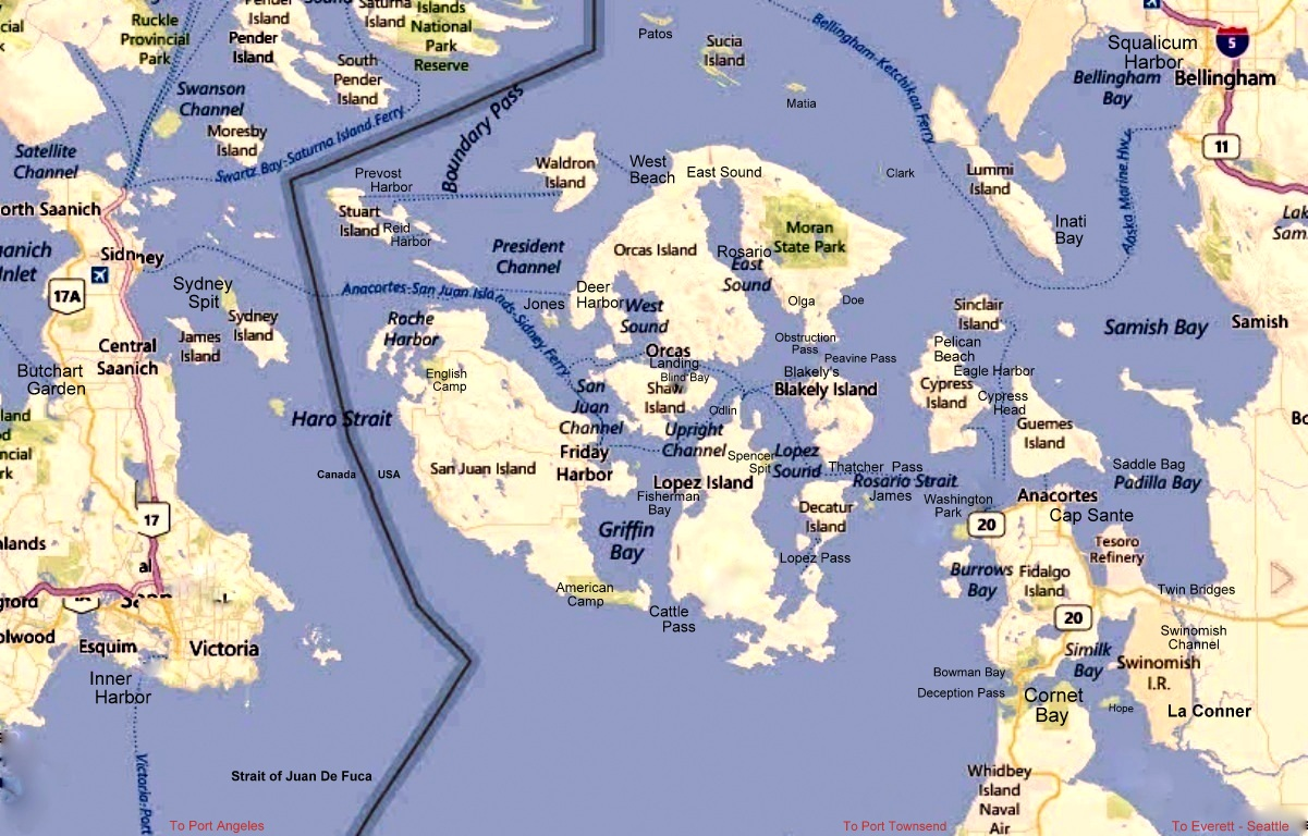 Boating  Sailing the San Juan Islands and Surrounding Area San