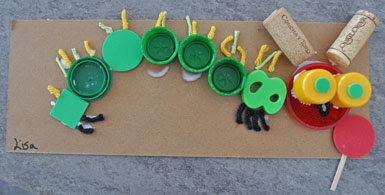 Very Hungry Caterpillar Crafts