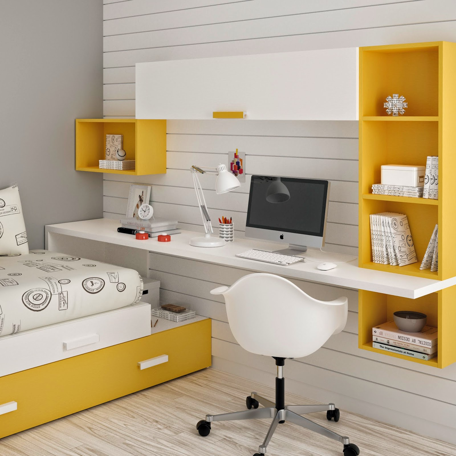 Student desk bedroom furniture ros - Bedroom desk chair ...