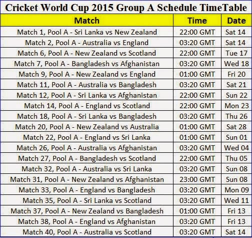 """Search Results for """"Cricket World Cup Shadule 2015"""" – Calendar ..."""