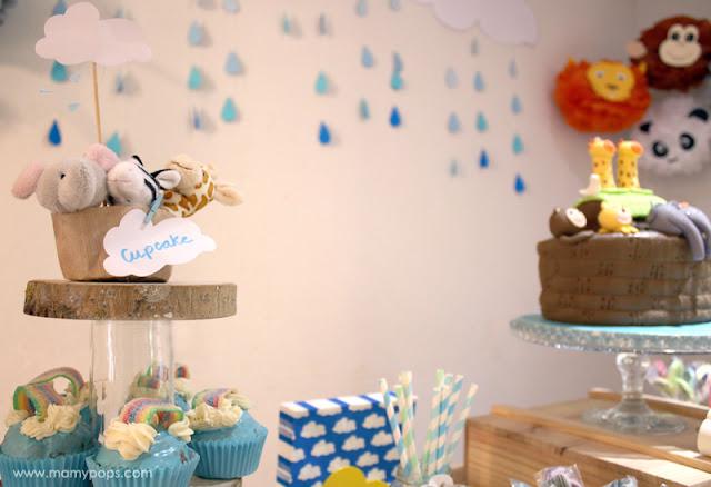 Decoración cumpleaños arca de noe