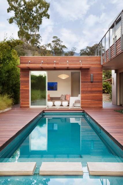 Hogares frescos 18 dise os de peque as pero hermosas piscinas - Disenos de piscinas para casas ...