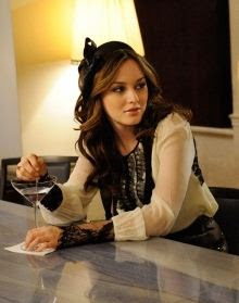 Fashionista Blair Waldorf from Gossip Girl style clothing.
