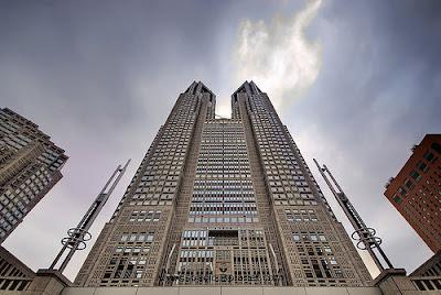Tokio City Hall, rascacielos de Japón
