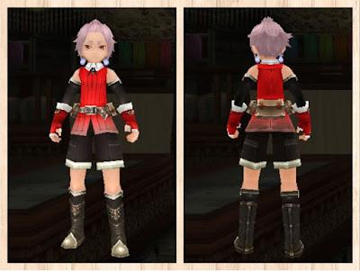 冒険者の服・赤1・男