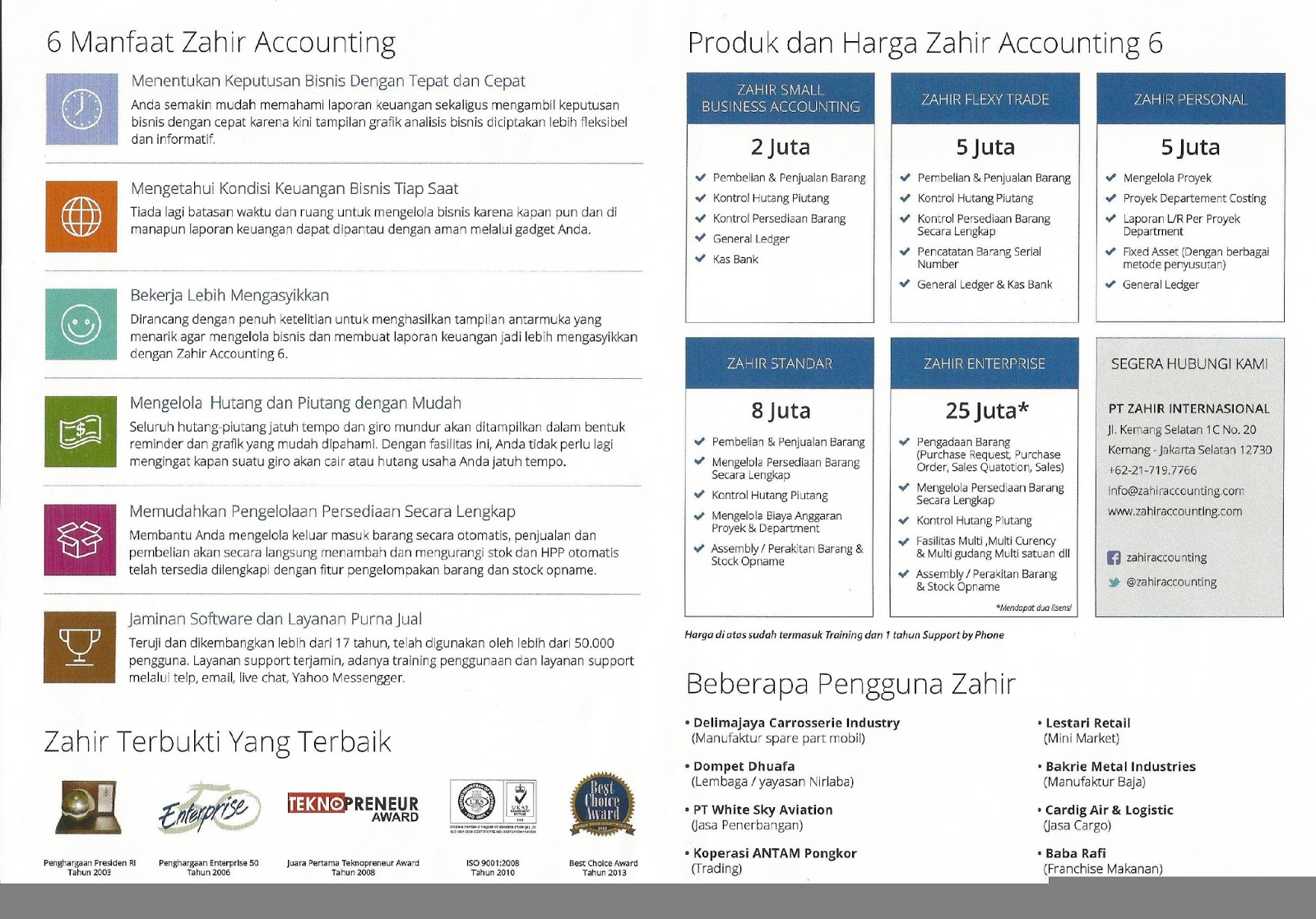 Accounting is fun and Easy with Zahir Online