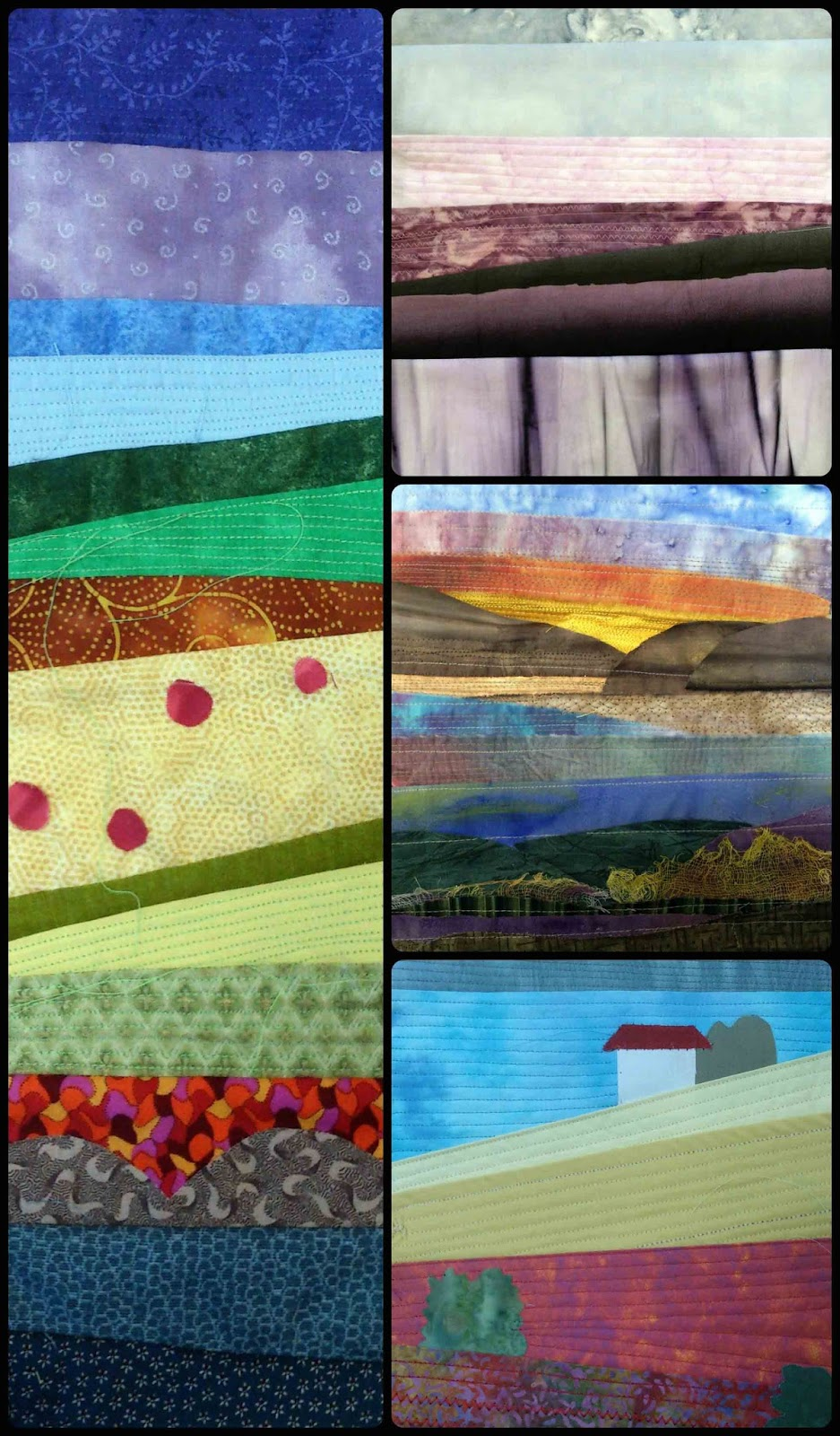 Landscape quilting workshops @Quilt Routes