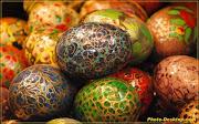 MONA DE PASCUA fondo huevos de pascua decorados pdi