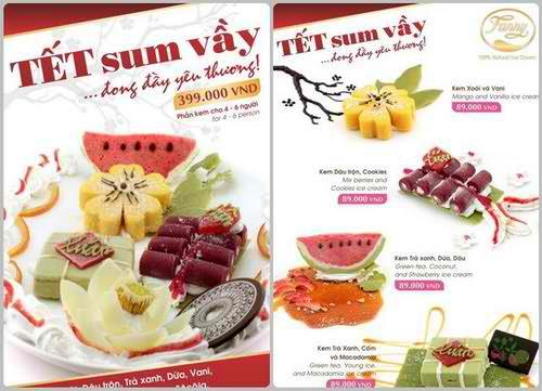Đón Tết cùng menu kem độc đáo từ Fanny, khuyến mãi ăn uống, địa điểm ăn uống 365