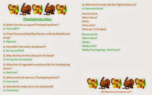 Unique Thanksgiving Jokes For Kids