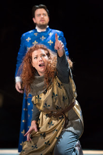 MAIN Kate Ladner (Giovanna) and Ben Johnson (Carlo) in Buxton Festival's Giovanna d'Arco. Photo (c) Jonathan Keenan