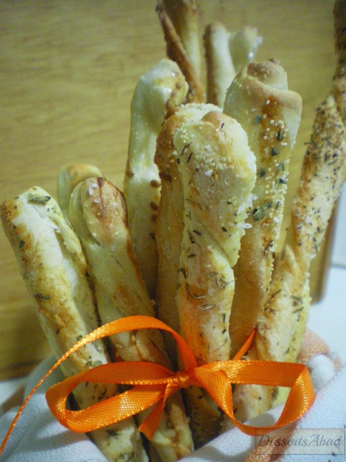 Grissini torinesi (palitos de pan)
