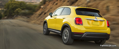 2016 Fiat 500X North American Trekking Plus