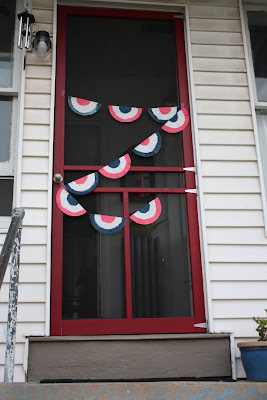 4th of july door decoration