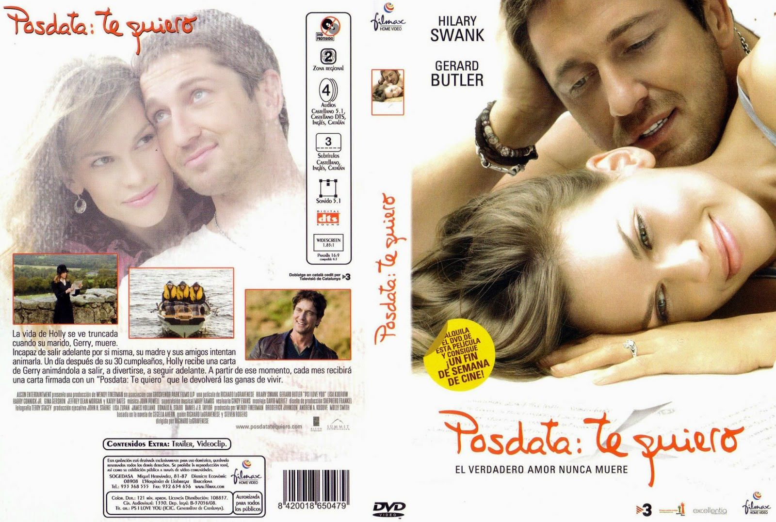 Posdata Te Quiero DVD