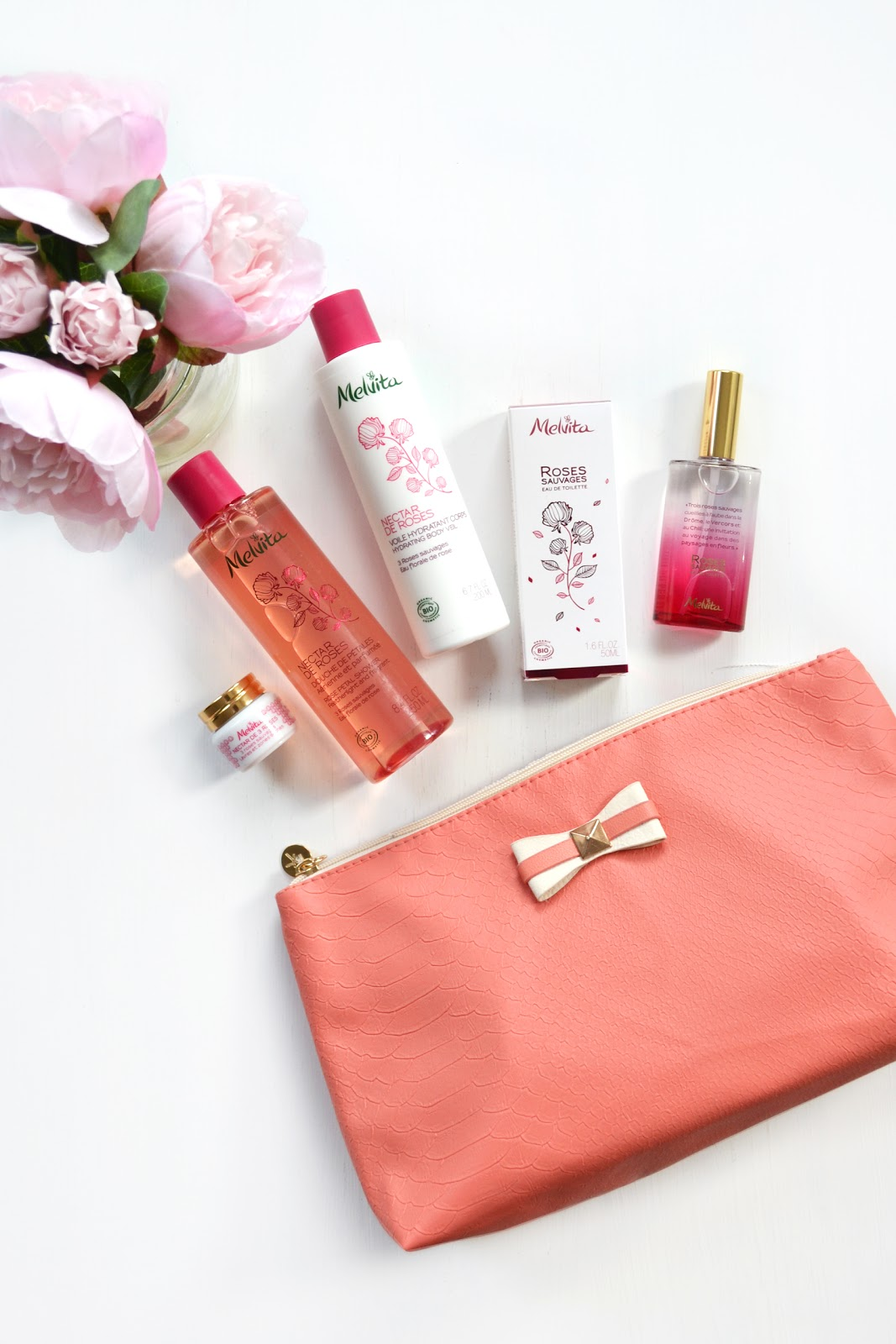 New Rose Scented Beauty Products From Melvita