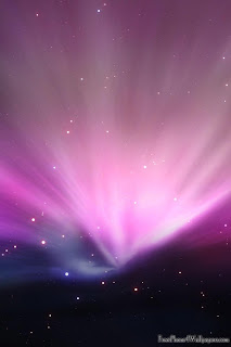 Aurora Purple iPhone 4 Wallpapers