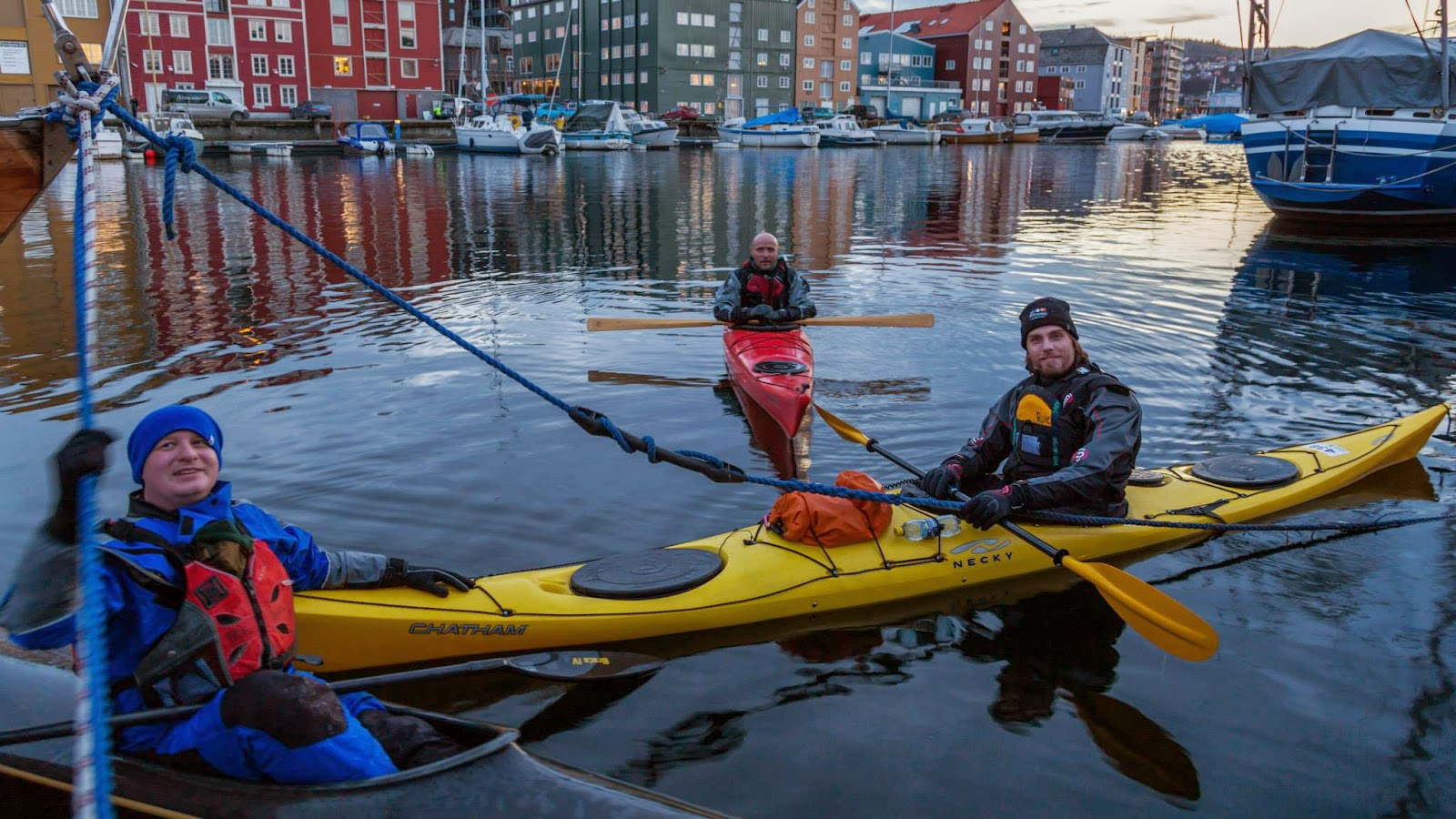 Kayaking - Trondheim, Norway (Photo Sven-Erik Knoff)