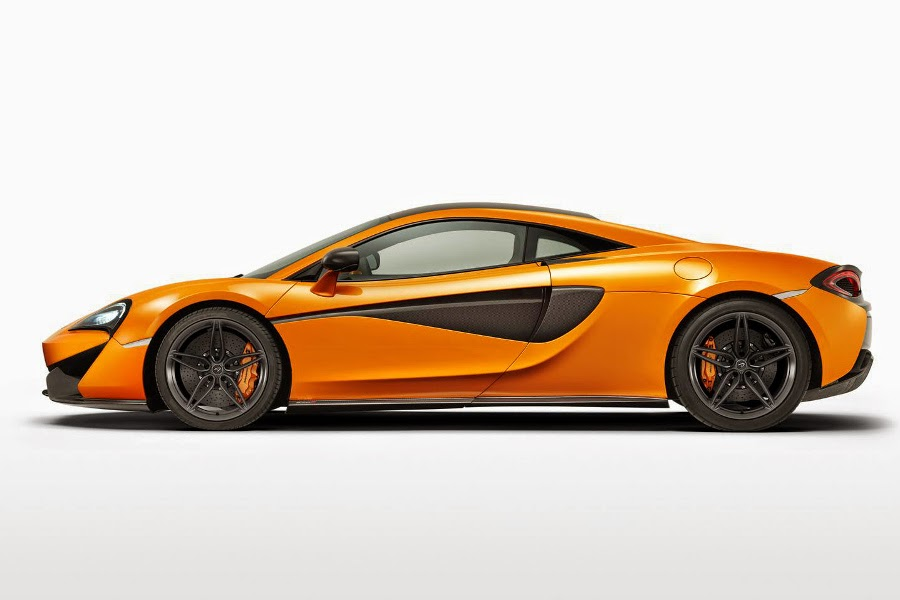 McLaren 570S Coupé (2016) Side