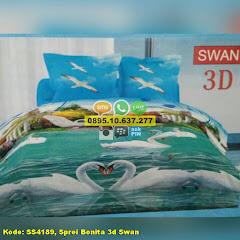 Harga Sprei Bonita 3d Swan Jual
