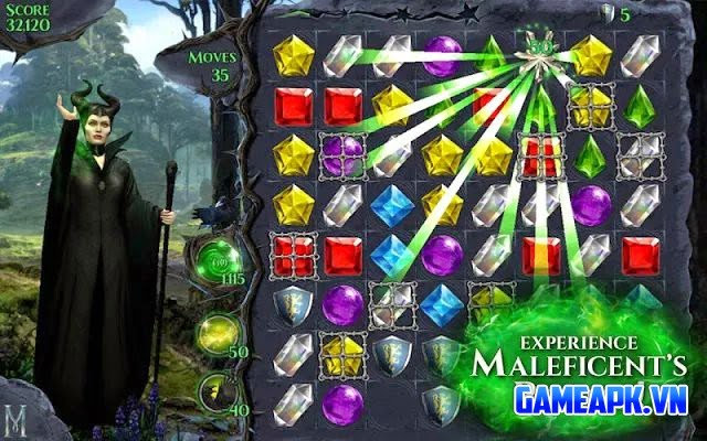 Maleficent Free Fall v1.6 hack full Lives & Magic cho Android