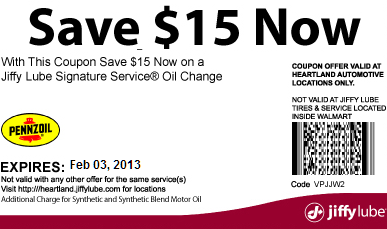 Walmart Oil Change Coupons: Great Way to Save Money on Oil Change
