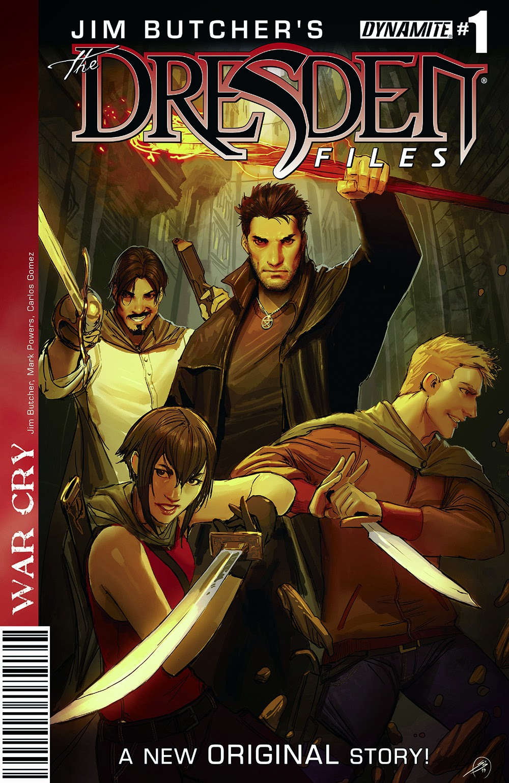 Jim Butcher's The Dresden Files €� War Cry 001 (2014)