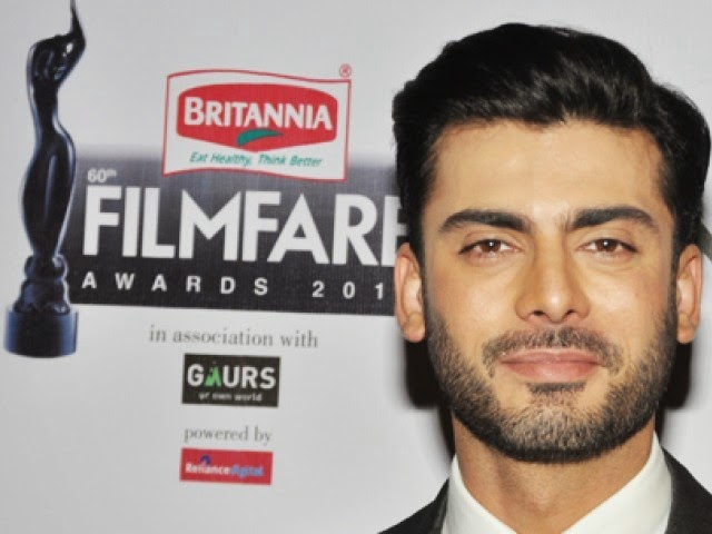 Fawad Khan 60th Filmfare awards