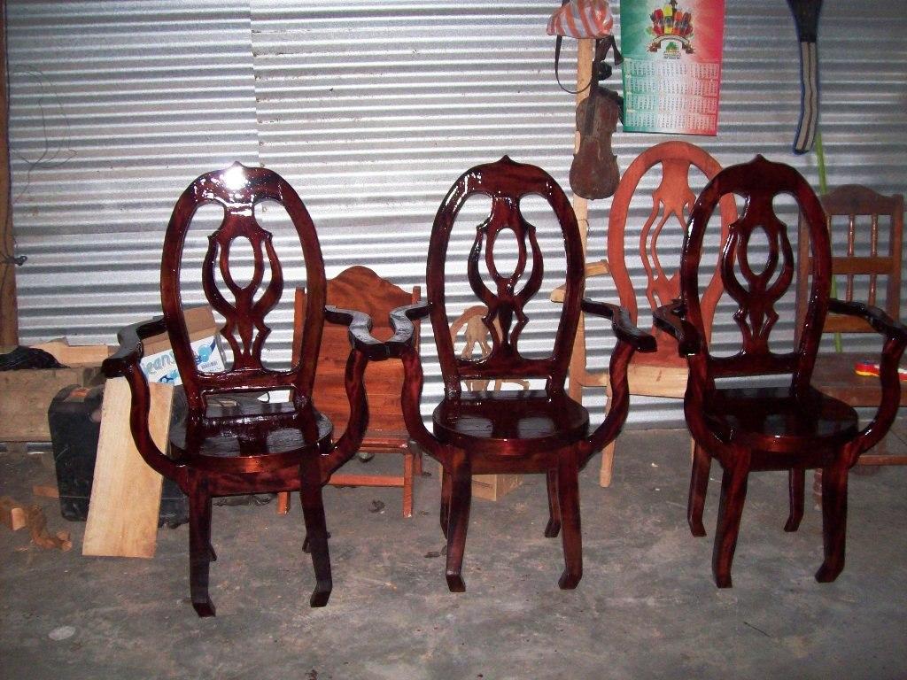 Muebles de cedro rojo veracruz for Sillas de comedor de madera precios