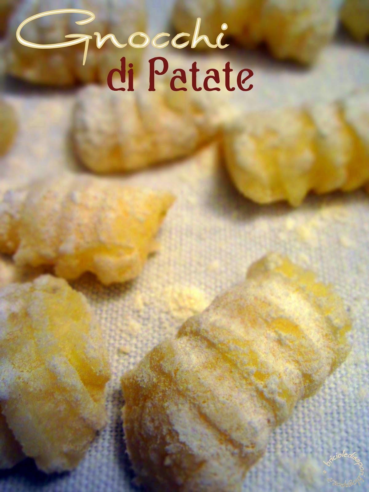 la pasta fatta in casa: gli gnocchi di patate