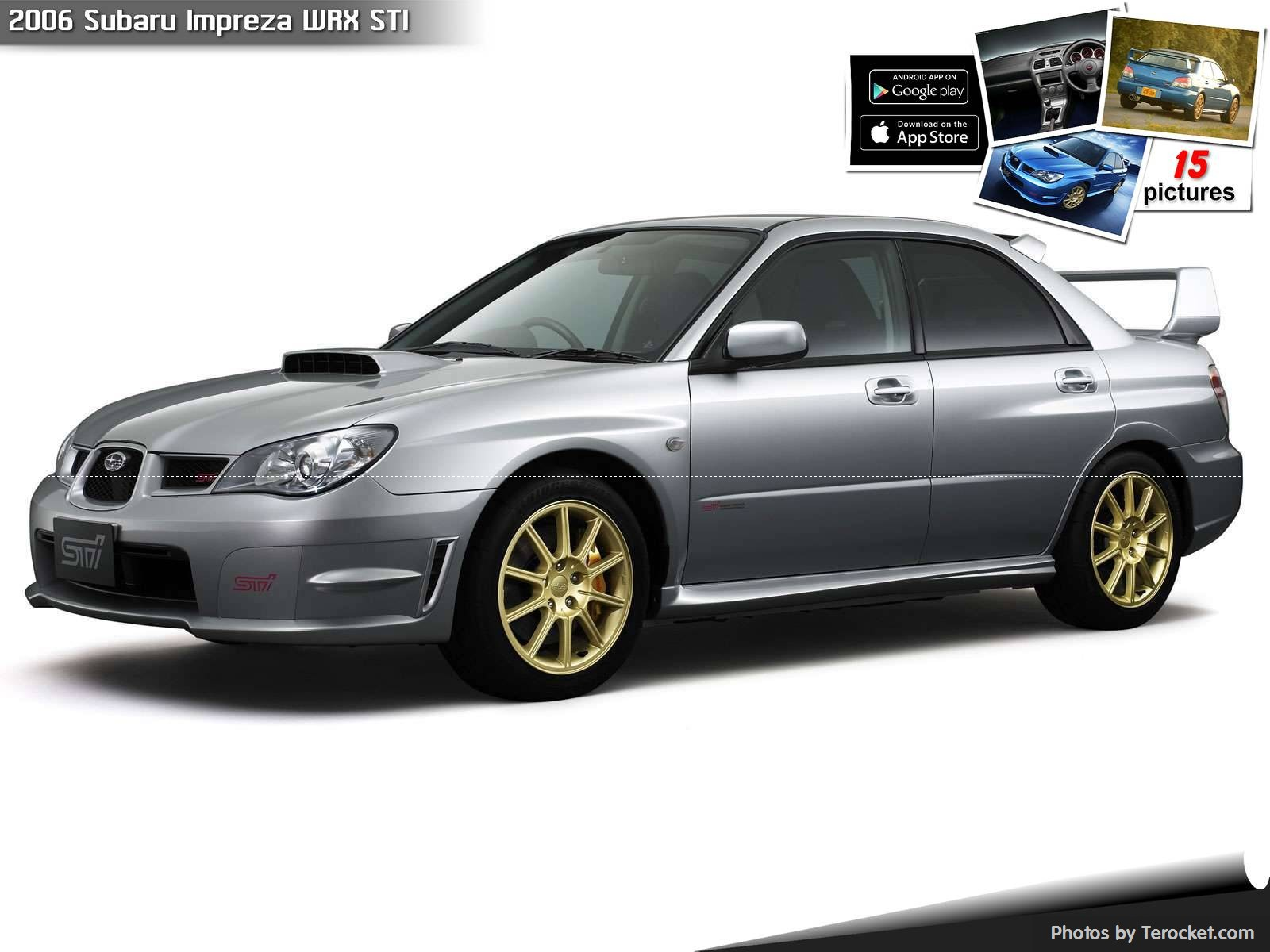 Hình ảnh xe ô tô Subaru Impreza WRX STI 2006 & nội ngoại thất