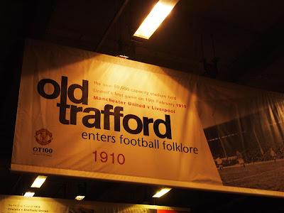 Old Trafford en Manchester