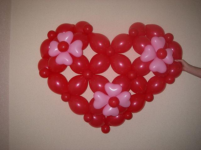 Сердце шаров своими руками