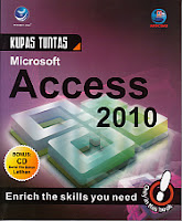 toko buku rahma: buku KUPAS TUNTAS MICROSOFT ACCESS 2010 + CD,pengarang amdcoms, penerbit andi