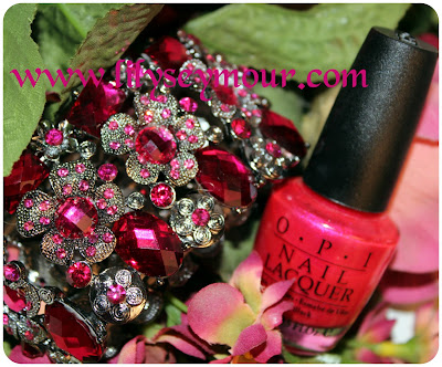 OPI's All Roses Lead To Rome