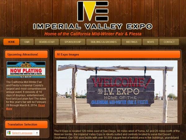 iv expo website example