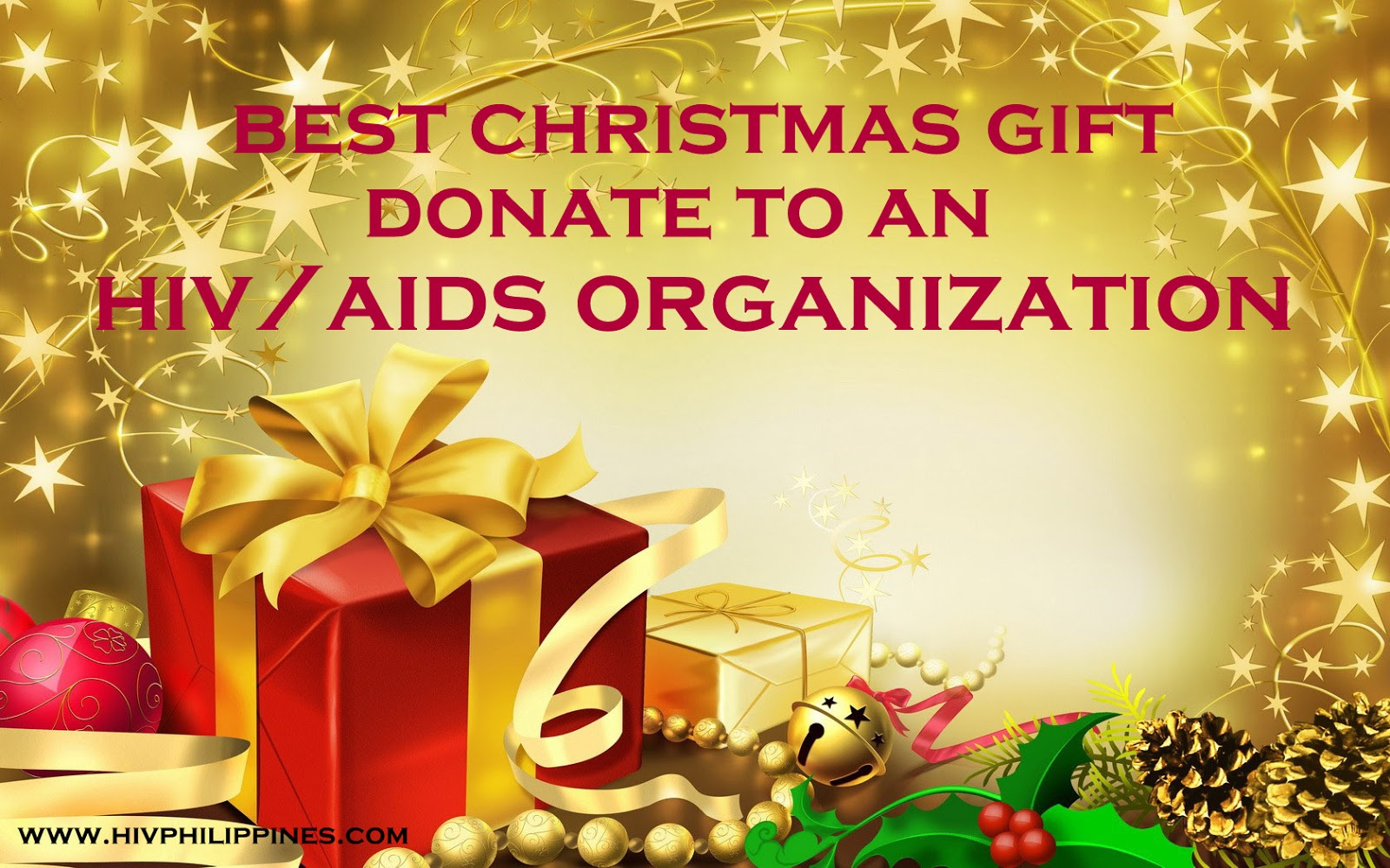 Best Christmas Gift No. 4: Donate To an HIV/AIDS Organization ...