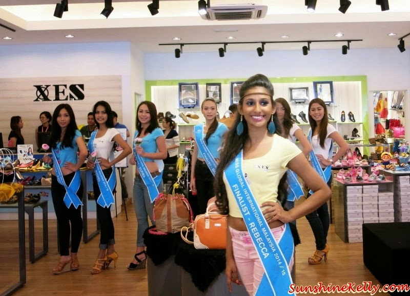 XES Shoes Official Footwear of Miss Global International Malaysia 2014, XES Shoes, Miss Global International Malaysia 2014, Official Footwear, XES Premium Boutique, Glenmarie Shah Alam