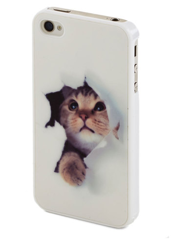 Beautiful Cat-printed Case for iPhone